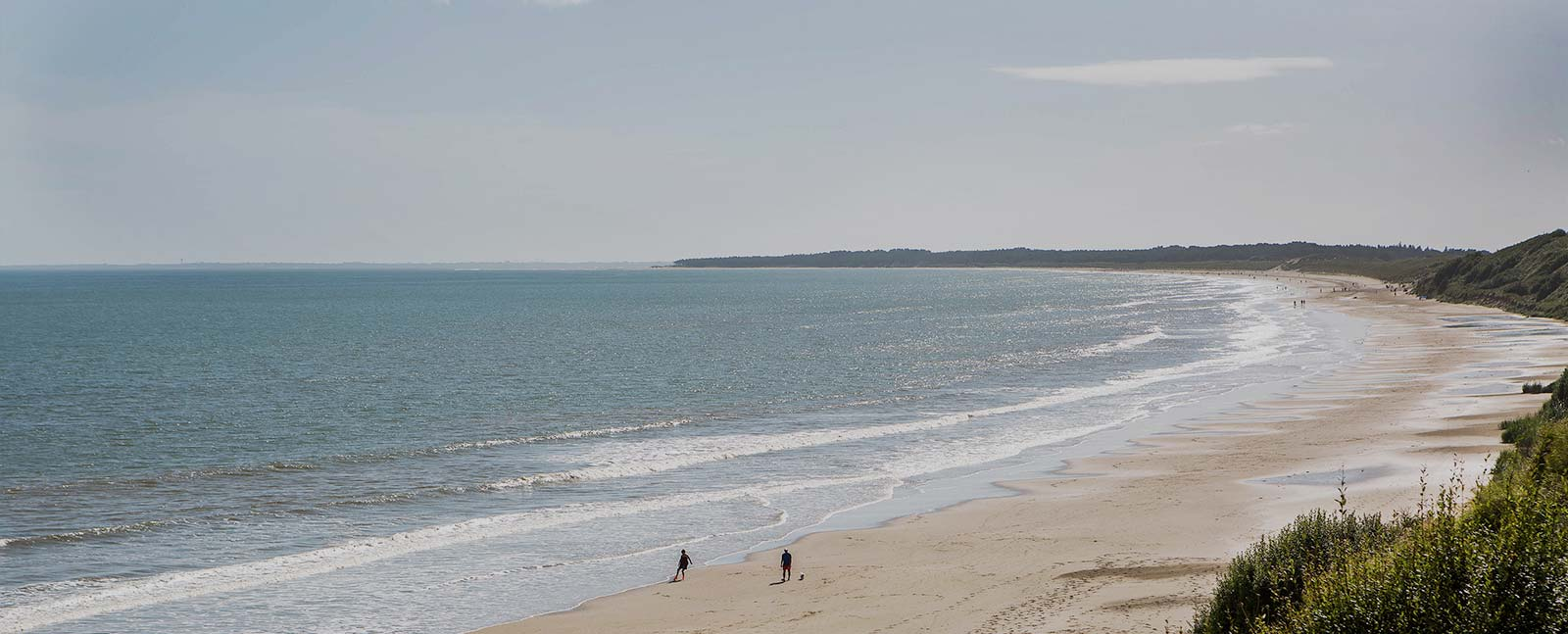 Beach next to Ballyvaloo Retreat Centre